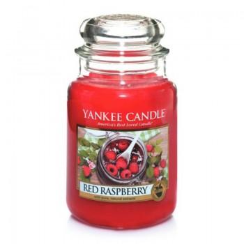 CANDELA GIARA GRANDE RED RASPBERRY YANKEE CANDLE
