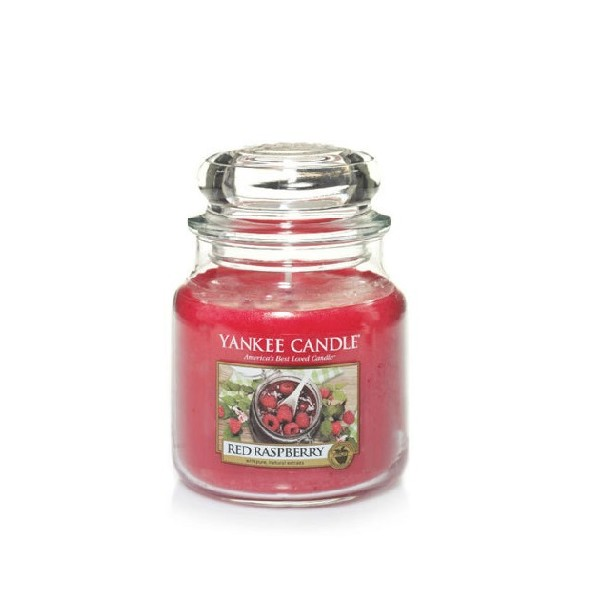 CANDELA GIARA MEDIA RED RASPBERRY