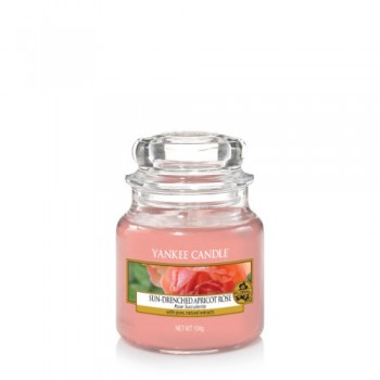 CANDELA GIARA PICCOLA SUN-DRENCHED APRICOT ROSE YANKEE CANDLE