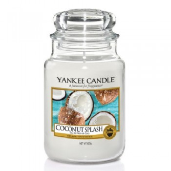 CANDELA GIARA GRANDE COCONUT SPLASH YANKEE CANDLE