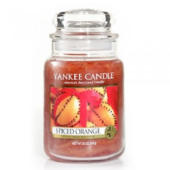 CANDELA GIARA GRANDE SPICED ORANGE YANKEE CANDLE