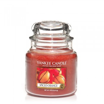 CANDELA GIARA MEDIA SPICED ORANGE YANKEE CANDLE