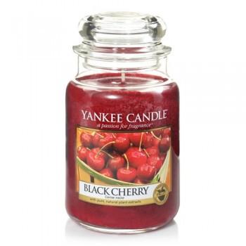 CANDELA GIARA GRANDE BLACK CHERRY YANKEE CANDLE