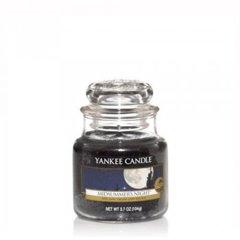 CANDELA GIARA PICCOLA MIDSUMMERS NIGHT YANKEE CANDLE