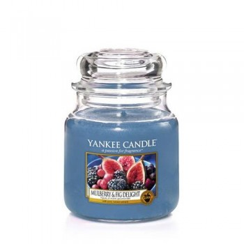 CANDELA GIARA MEDIA MULBERRY & FIG DELIGHT YANKEE CANDLE