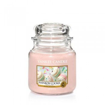 CANDELA GIARA MEDIA RAINBOW COOKIE YANKEE CANDLE
