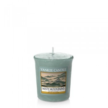 CANDELA SAMPLER MISTY MOUNTAINS YANKEE CANDLE