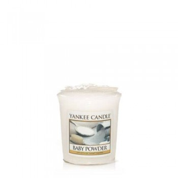 CANDELA SAMPLER BABY POWDER YANKEE CANDLE