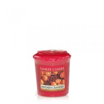 CANDELA SAMPLER MANDARIN CRANBERRY YANKEE CANDLE