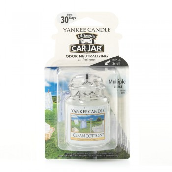 DEOCAR CLEAN COTTON YANKEE CANDLE