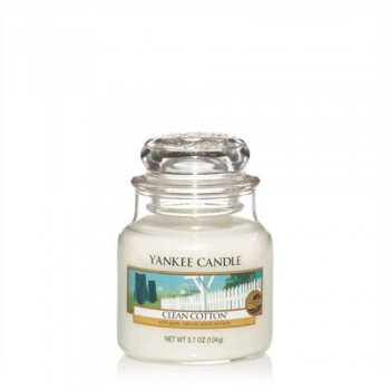 CANDELA GIARA PICCOLA CLEAN COTTON YANKEE CANDLE