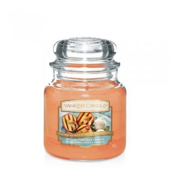CANDELA GIARA MEDIA GRILLED PEACHES & VANILLA YANKEE CANDLE