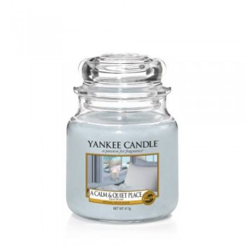 CANDELA GIARA MEDIA A CALM & QUIET PLACE YANKEE CANDLE