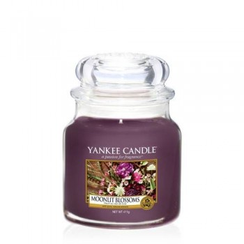 CANDELA GIARA MEDIA MOONLIGHT BLOSSOMS YANKEE CANDLE