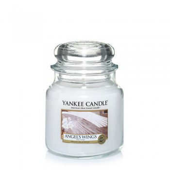 CANDELA GIARA MEDIA ANGEL WINGS YANKEE CANDLE