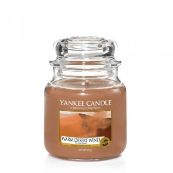 CANDELA GIARA MEDIA WARM DESERT WIND YANKEE CANDLE
