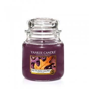 CANDELA GIARA MEDIA AUTUMN GLOW YANKEE CANDLE