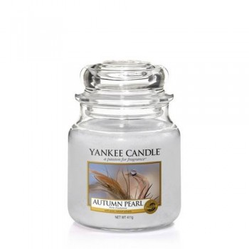 CANDELA GIARA MEDIA AUTUMN PEARL YANKEE CANDLE
