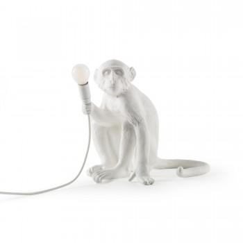 LAMPADA IN RESINA MONKEY LAMP SEDUTA SELETTI