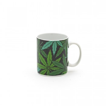 TAZZA MUG IN PORCELLANA STUDIO JOB BLOW WEED SELETTI