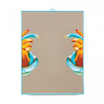 SPECCHIO TOILETPAPER HANDS WITH SNAKES SELETTI