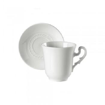 SET 6 PEZZI TAZZA CAFFE CON PIATTINO MUSEO RICHARD GINORI