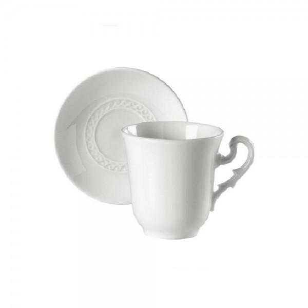 SET 6 PEZZI TAZZA CAFFE CON PIATTINO MUSEO