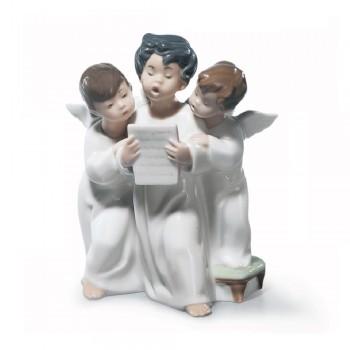 STATUINA CORO DI ANGELI LLADRO