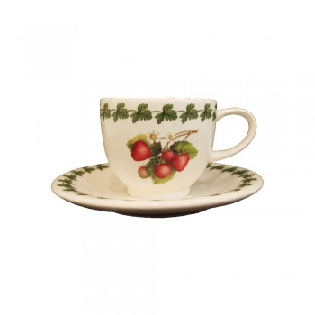 SET 6 TAZZE CAFFÈ CON PIATTINO STRAWBERRY PORTMEIRION