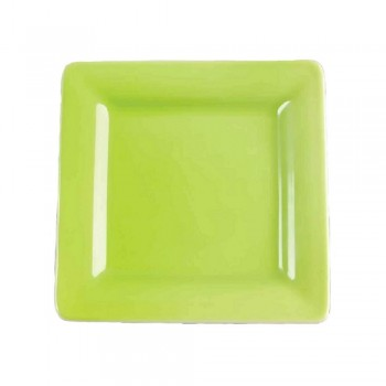 PIATTO PANE QUADRATO 16 CM WONDERFUL WORLD GREEN VILLEROY & BOCH
