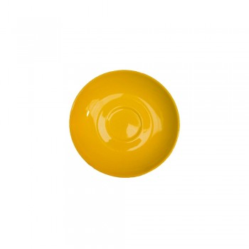 PIATTINO TAZZA CAFFÈ 12 CM WONDERFUL WORLD YELLOW VILLEROY & BOCH