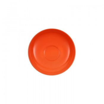 PIATTINO TAZZA CAFFÈ 12CM WONDERFUL WORLD ORANGE VILLEROY & BOCH