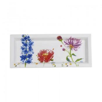 SVUOTATASCHE RETTANGOLARE 25X10 CM ANMUT FLOWERS VILLEROY & BOCH