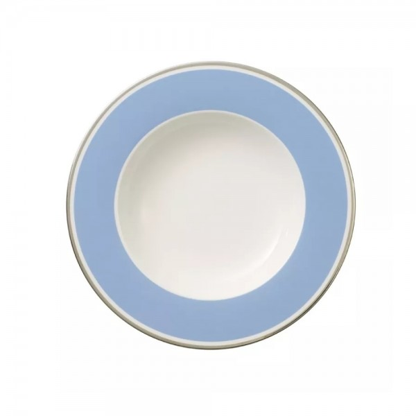 PIATTO FONDO 24CM ANMUT MY COLOR SKY BLUE
