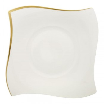 PIATTO PIANO 27 CM NEW WAVE PREMIUM GOLD VILLEROY & BOCH