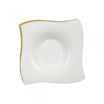 PIATTO FONDO NEW WAVE PREMIUM GOLD VILLEROY & BOCH