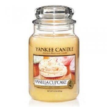 CANDELA GIARA GRANDE VANILLA CUPCAKE YANKEE CANDLE