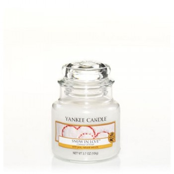 CANDELA GIARA PICCOLA SNOW IN LOVE YANKEE CANDLE