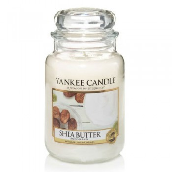 CANDELA GIARA GRANDE SHEA BUTTER YANKEE CANDLE