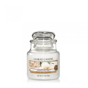 CANDELA GIARA PICCOLA WEDDING DAY YANKEE CANDLE