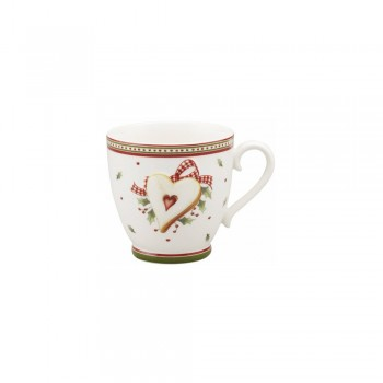 SET 2 PEZZI TAZZA CAFFE C/PIATTINO WINTER BAKERY VILLEROY & BOCH