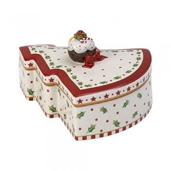 SCATOLA PASTICCERIA ABETE WINTER BAKERY DECORATIO VILLEROY & BOCH
