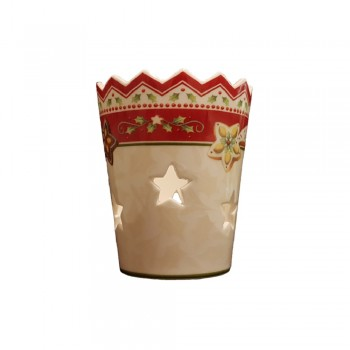 PORTACANDELE WINTER BAKERY DECORATION VILLEROY & BOCH