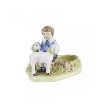 PORTA TEALIGHT BAMBINO FARMER SPRING DECORATION VILLEROY & BOCH