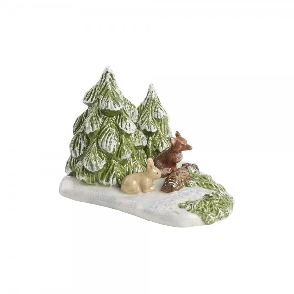FORESTA CON ANIMALI MINI CHRISTMAS VILLAGE