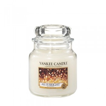 CANDELA GIARA MEDIA ALL IS BRIGHT YANKEE CANDLE