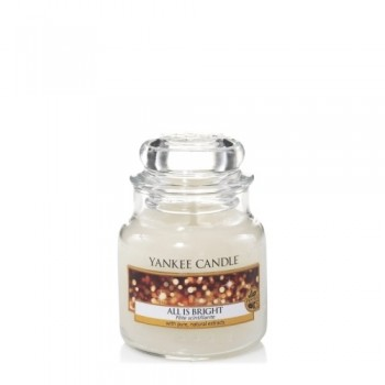 CANDELA GIARA PICCOLA ALL IS BRIGHT YANKEE CANDLE