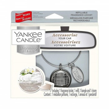 CHARMING SCENTS LINEAR FLUFFLY TOWELS YANKEE CANDLE