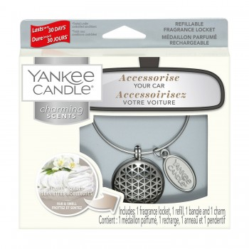CHARMING SCENTS GEOMETRIC FLUFFY TOWELS YANKEE CANDLE