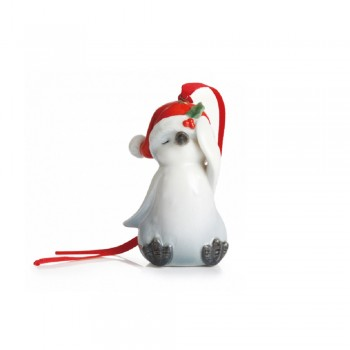PENDAGLIO PINGUINO HOLIDAY GREETINGS FRANZ PORCELAIN
